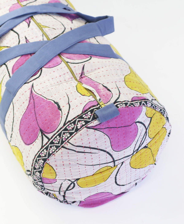Fair Trade kantha weekender duffle bag by Anchal Project