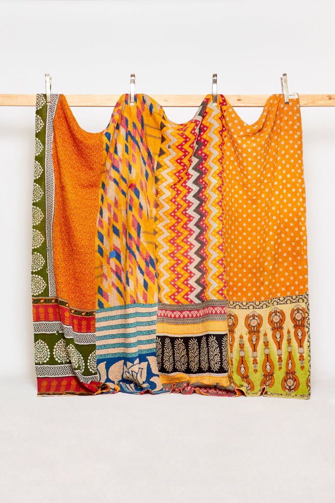 King Kantha Quilt - (Anthropologie)