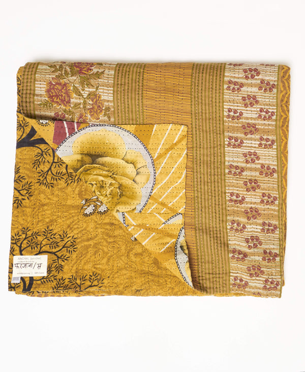 King Kantha Quilt Bedding - No. 190906