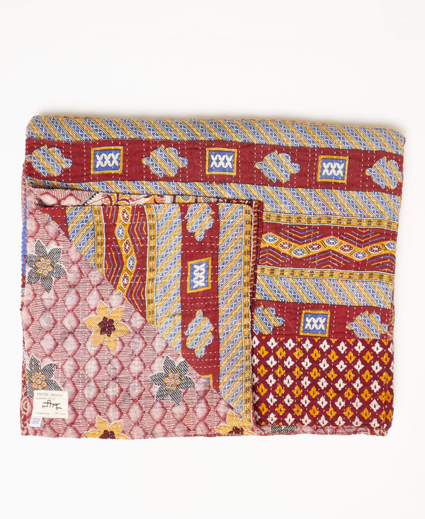 King Kantha Quilt Bedding - No. 190910