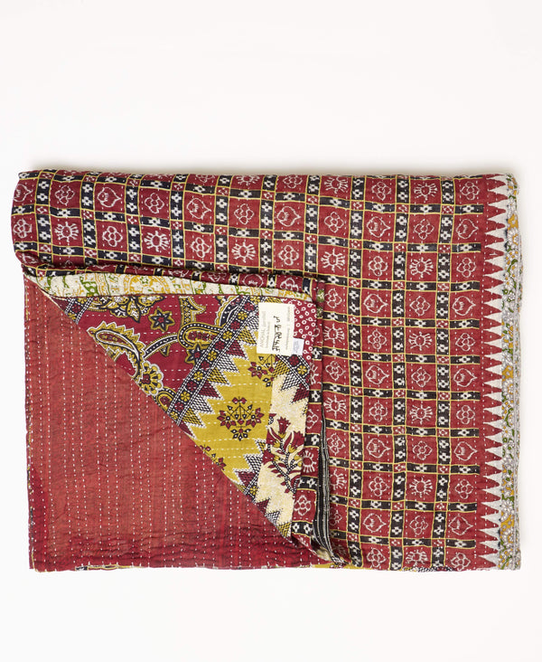 King Kantha Quilt Bedding - No. 190915