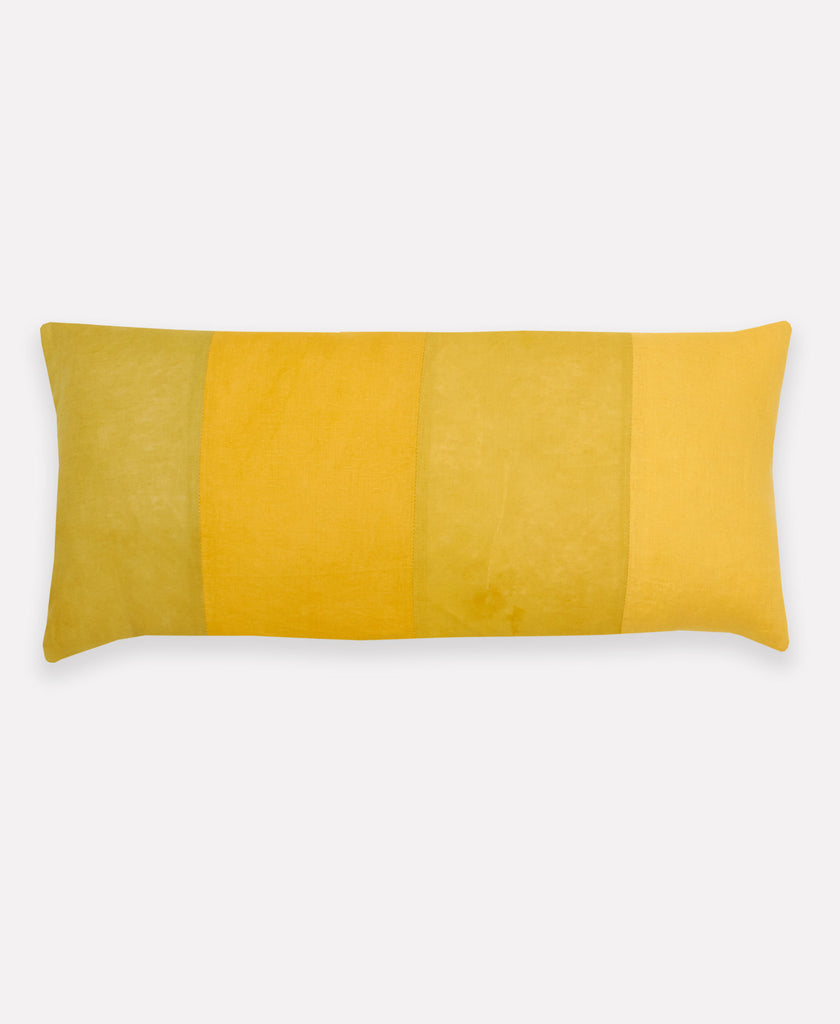 lemon and lime lumbar throw pillow by Anchal Project