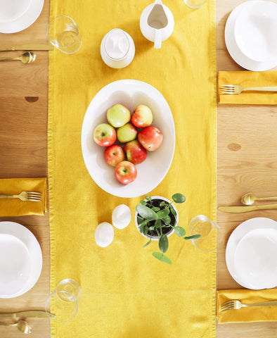 Naturally Dyed Table Runner | Anchal Project