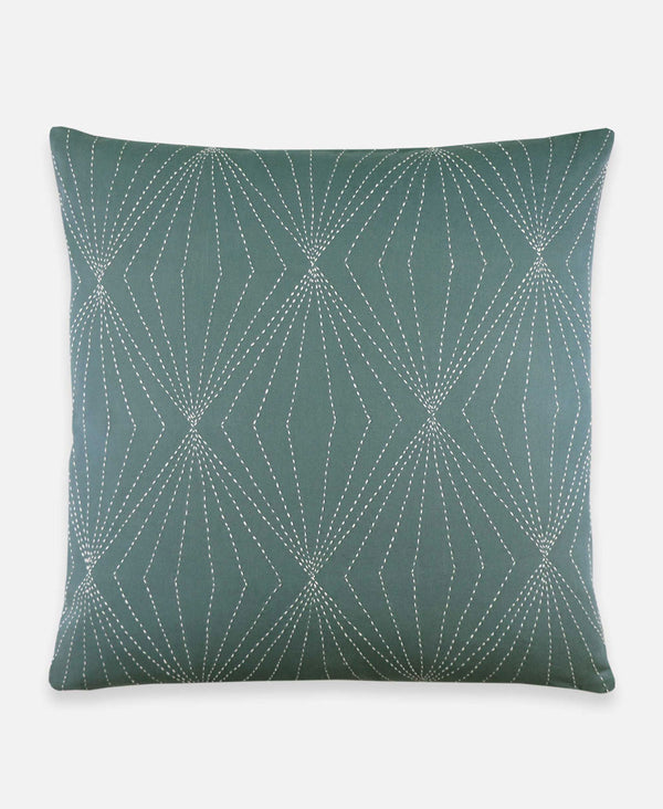 Anchal Project prism pillow in spruce