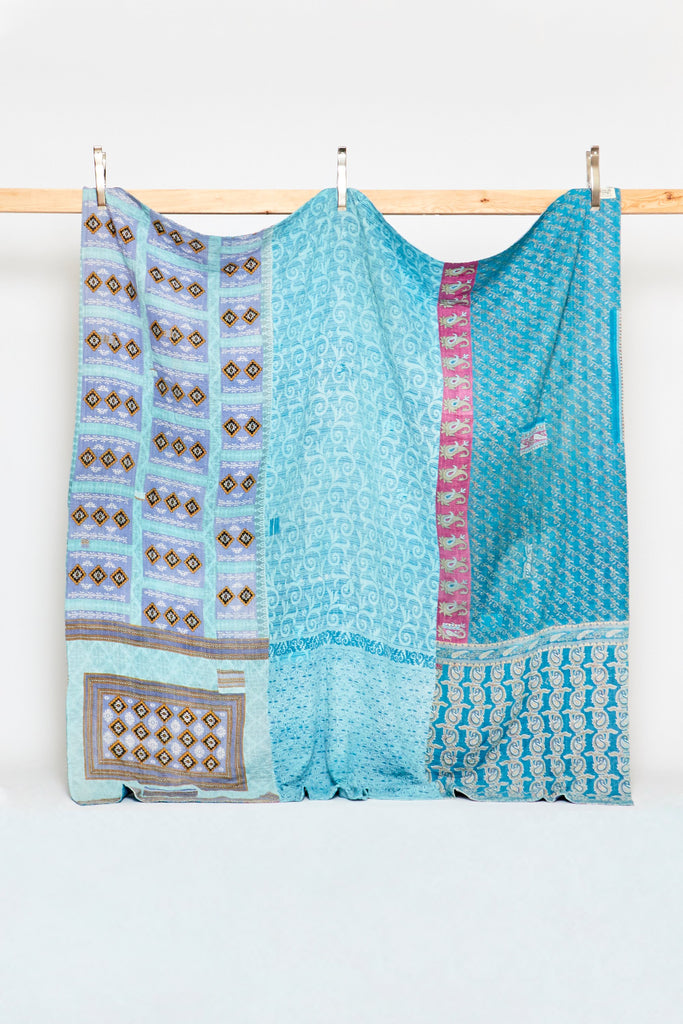 Queen Kantha Quilt - (Anthropologie)