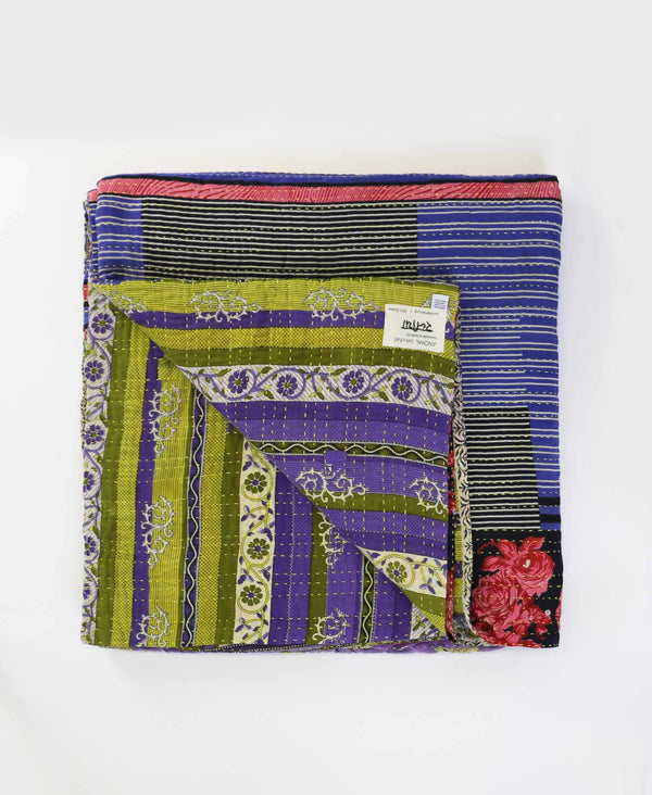 Queen Kantha Quilt Bedding - No. 190520