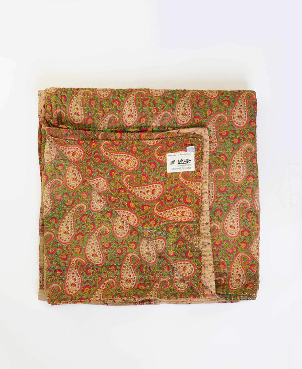 Queen Kantha Quilt Bedding - No. 190519