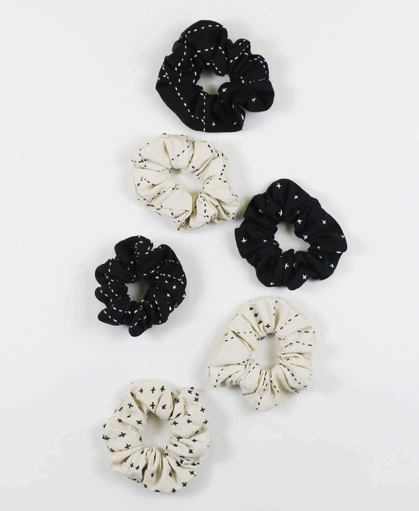 ethically made cotton hair accessories