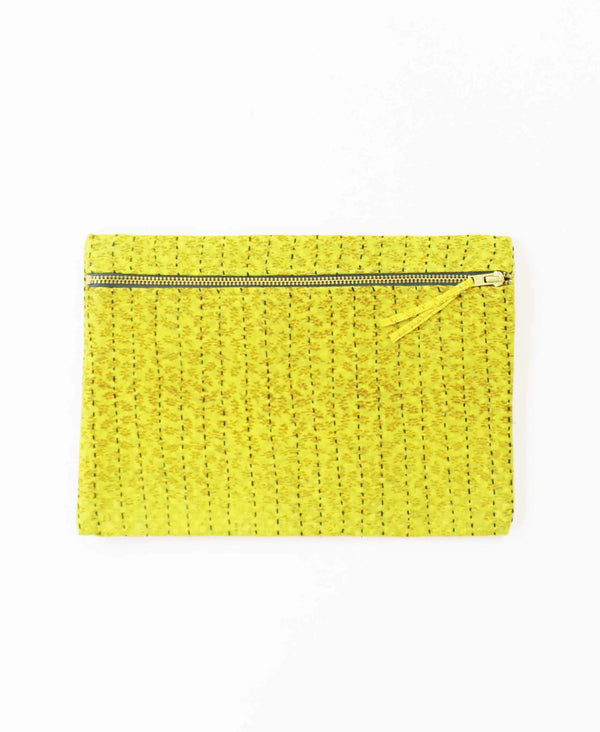 Kantha Pouch Clutch - No. 190247