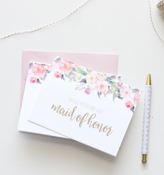 Boho Bridal Party Stationery Set