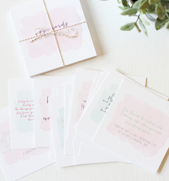 Hope Cards™ - Scripture Cards to Encourage the Soul