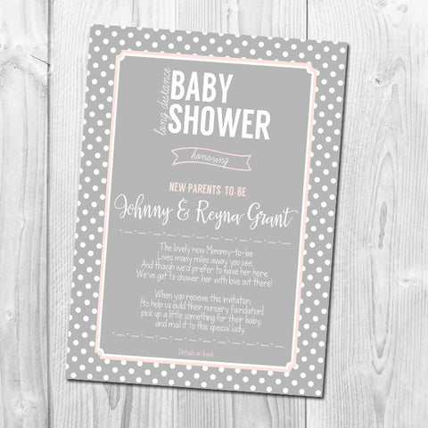baby shower invitations  little blue paper shop, Baby shower invitations