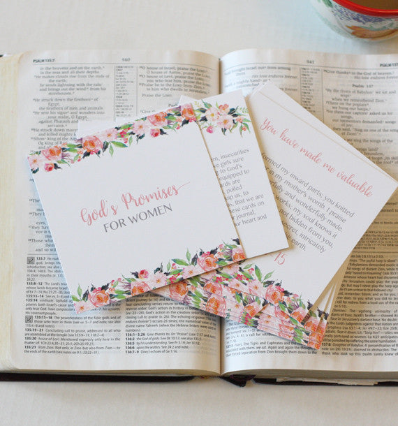 God's Promises For Women - Scripture Cards