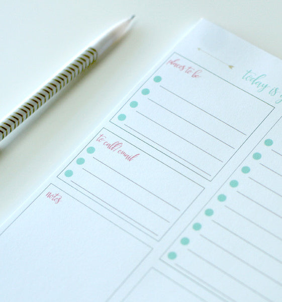 Today is Gonna Rock Daily Planning Pad