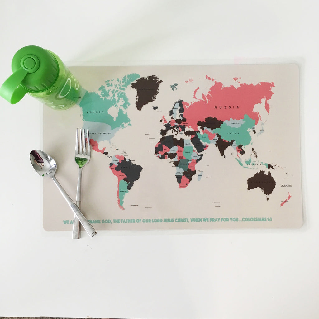 Pray for the Nations Placemat