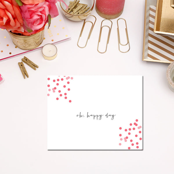 Oh Happy Day Stationery Set