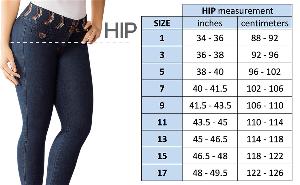 How to determinate your right Jeans size