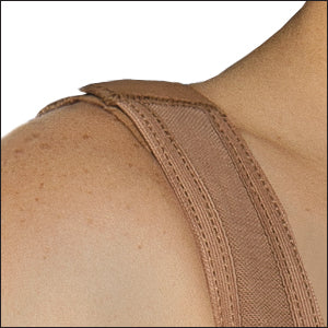 Equilibrium post op compression garment C9001 wide shoulder strap