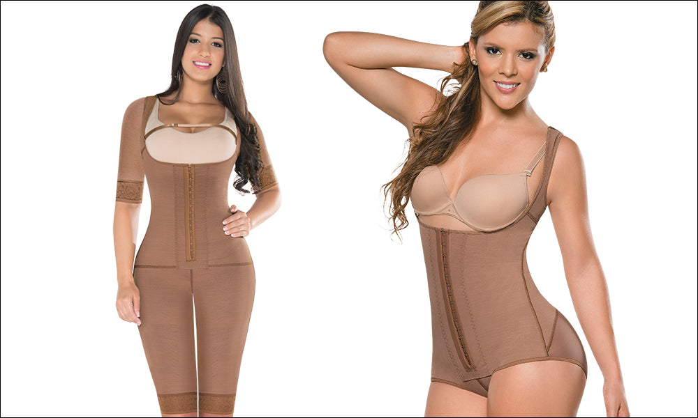 Equilibrium postsurgical girdles one piece and body style