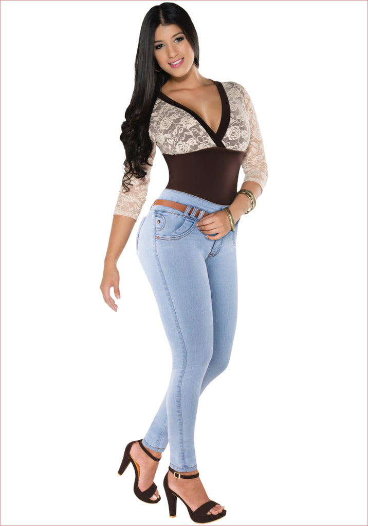 Skinny Blue Jean for women - J8583