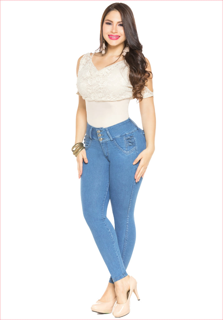 Skinny Blue Jean for women - J8902SH