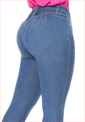 Skinny Jean for women   J8293 Plus size
