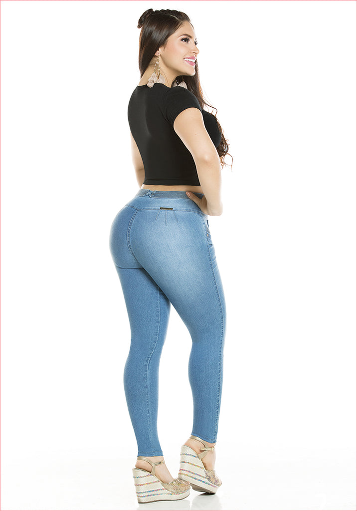 Skinny Blue Jean for women - J8929SH