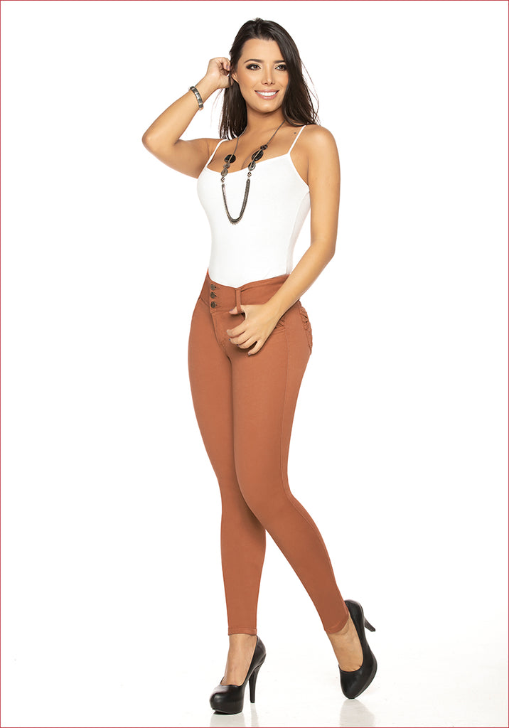 Skinny Burnt Orange Jean for women - J82013