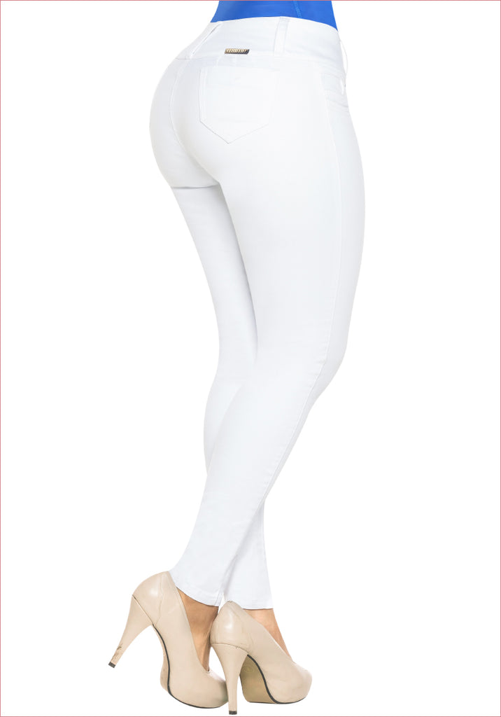 Skinny White Jean for women - J8838