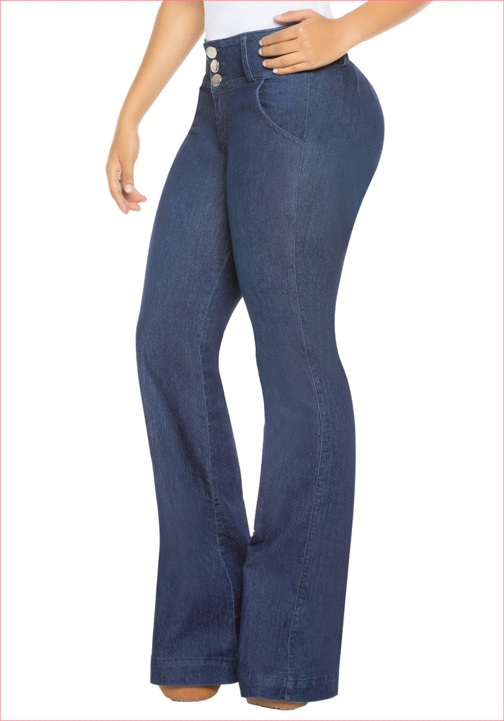 Bootcut Blue Jean for women - J8915