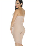 Firm compression girdle - Strapless Bodysuit - C4163