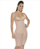 Firm compression girdle - High back wide strap  bodysuit - C4165