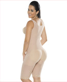 Firm compression girdle  High back wide strap  bodysuit - C4165