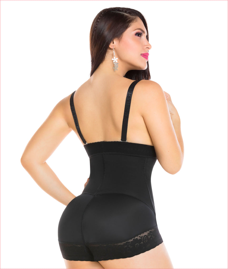 Powerflex Strapless BoyShort Firm Girdle  - C4170