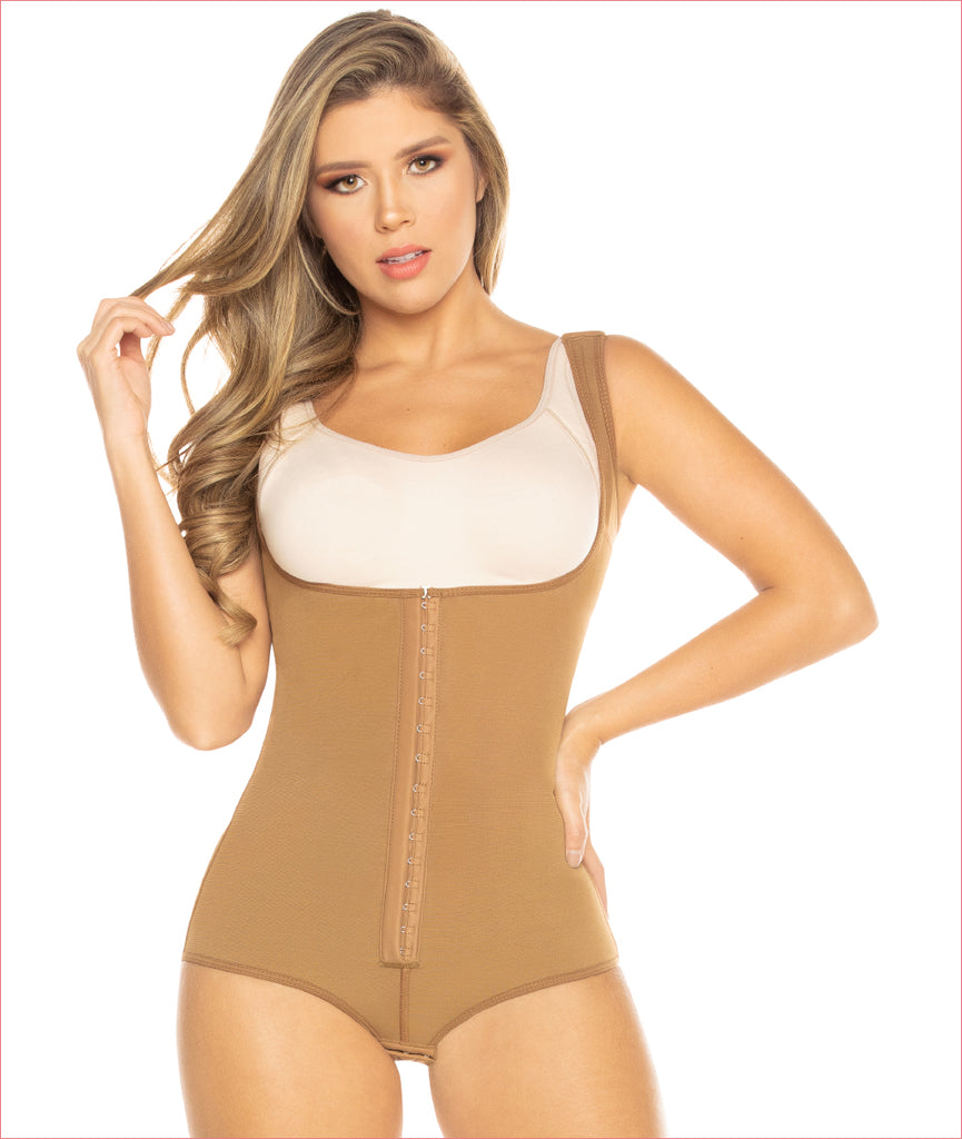 Post Op shapewear boyshort style bodysuit - C9005
