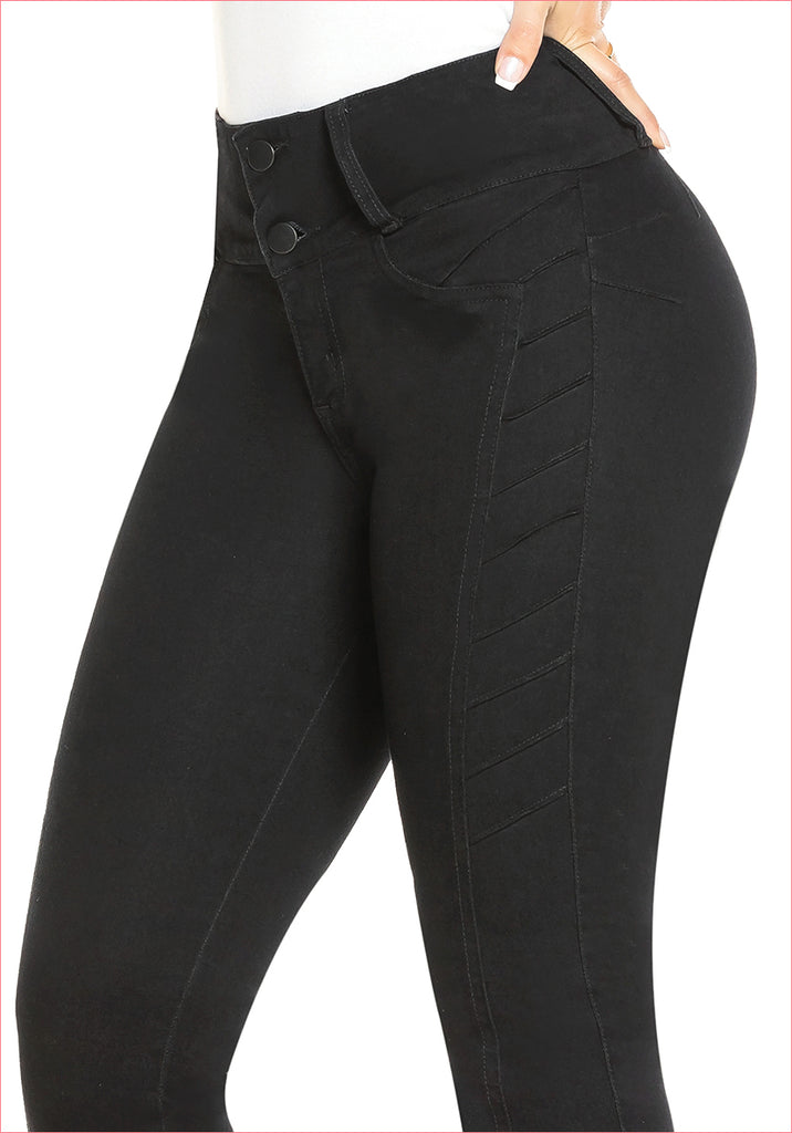 Skinny Black Jean for women - J8832B