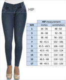 Equilibrium Jeans Size Chart 1 to 17