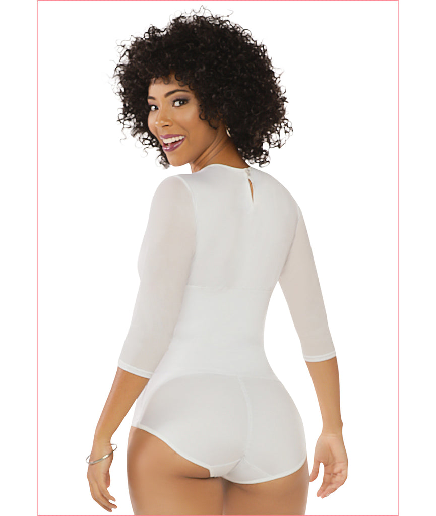 Fashionable shapewear white girdle body C4879