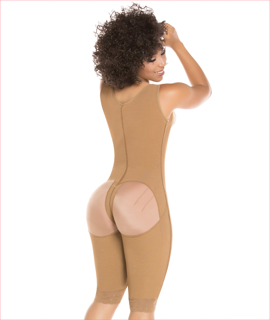 Post Op One piece girdle high back - C9019