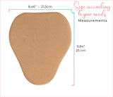 Abdominal board in Pear Shape  T1004