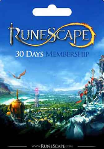 1 Mes Membresia Runescape Gift Card GLOBAL - Chilecodigos