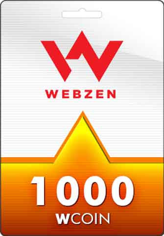 1000 Wcoins Webzen Gift Card GLOBAL - Chilecodigos