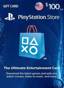 $100 USD PlayStation Gift Card PSN USA - Chilecodigos