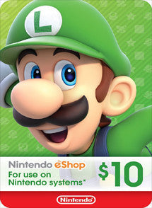 $10 USD Nintendo Eshop USA - Chilecodigos