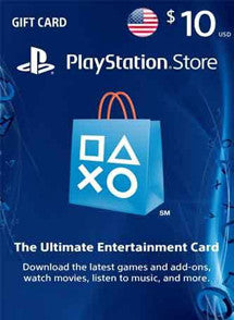 $10 USD PlayStation Gift Card PSN USA - Chilecodigos