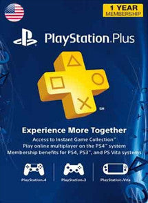 1 Año PSN Plus Gift Card USA - Chilecodigos