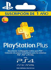 1 año PlayStation Plus ESPAÑA, MEMBRESÍA, PLAYSTATION - Chilecodigos