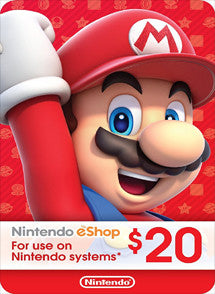 $20 USD Nintendo Eshop USA - Chilecodigos