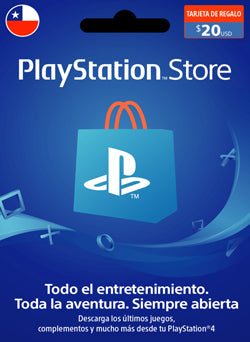 $20 USD PlayStation Gift Card PSN CHILE - Chilecodigos