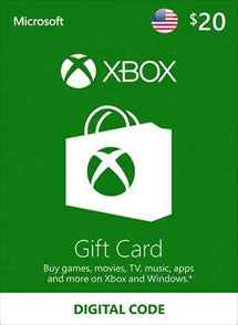 $20 USD Xbox Live Gift Card USA - Chilecodigos